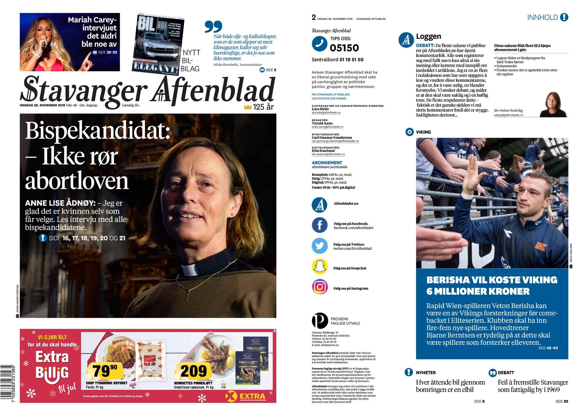 Stavanger aftenblad nyheter