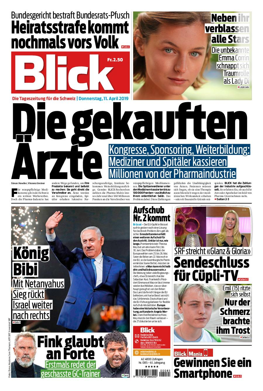 Blick 11 April 2019 Avaxhome