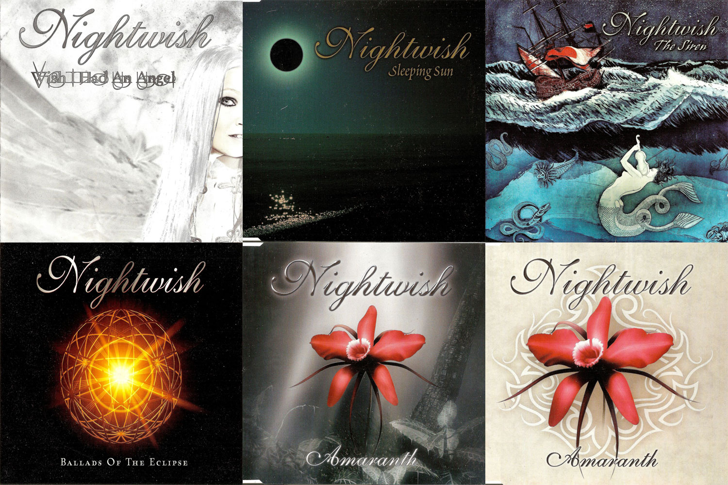 Nightwish: Singles & EP's Collection part 2 (2004 - 2007