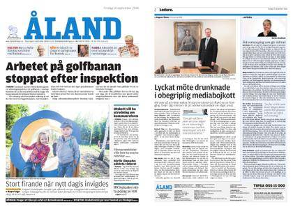 Ålandstidningen – 14 september 2018