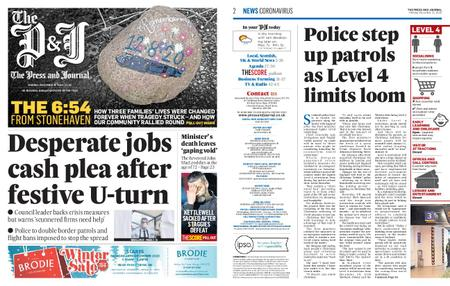 The Press and Journal Moray – December 21, 2020