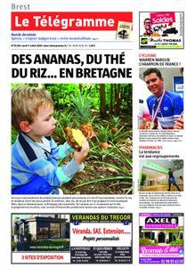 Le Télégramme Brest – 01 juillet 2019
