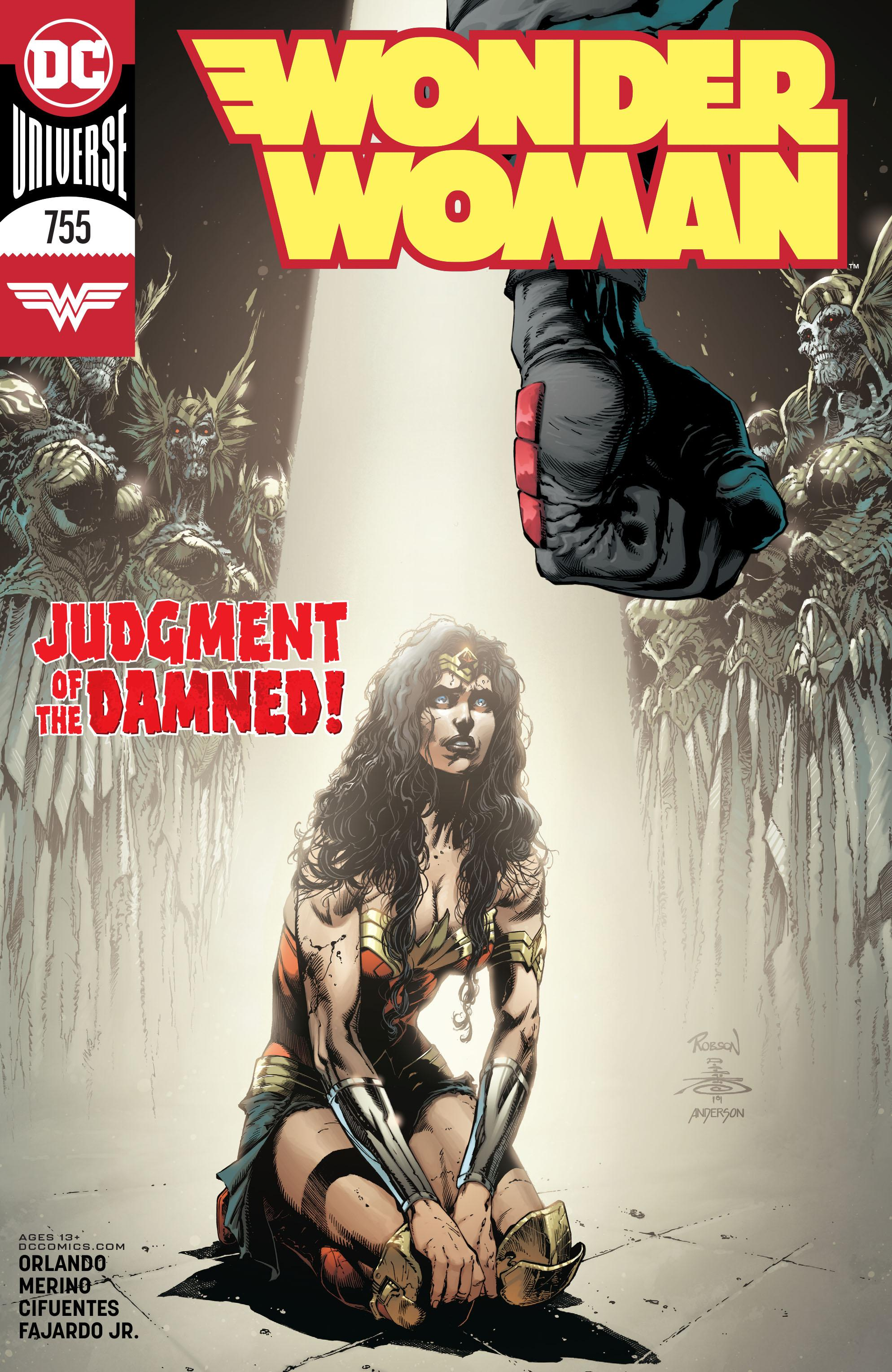Wonder Woman 755 2020 digital Son of Ultron