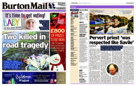 Burton Mail – November 20, 2018