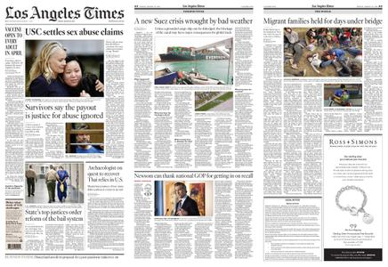 Los Angeles Times – March 26, 2021