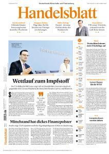 Handelsblatt - 16 September 2020