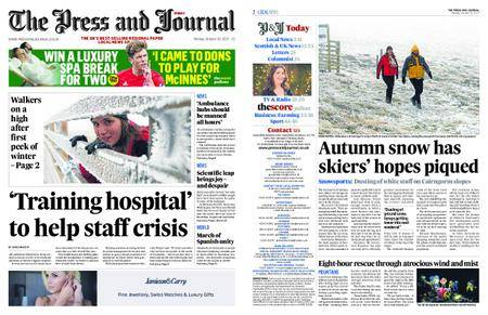 The Press and Journal Moray – October 30, 2017