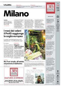 la Repubblica Milano - 18 Febbraio 2019