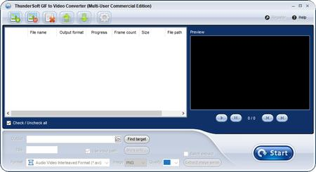 ThunderSoft GIF to Video Converter 2.7.0.0