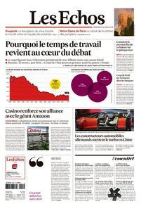 Les Echos du Mercredi 24 Avril 2019