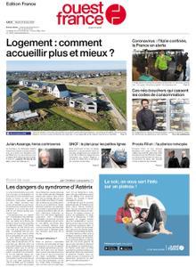 Ouest-France Édition France – 25 février 2020