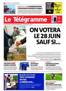 Le Télégramme Guingamp – 23 mai 2020