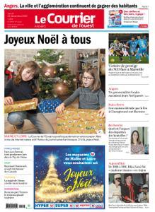 Le Courrier de l'Ouest Angers – 24 décembre 2020