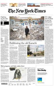 International New York Times - 28 January 2019