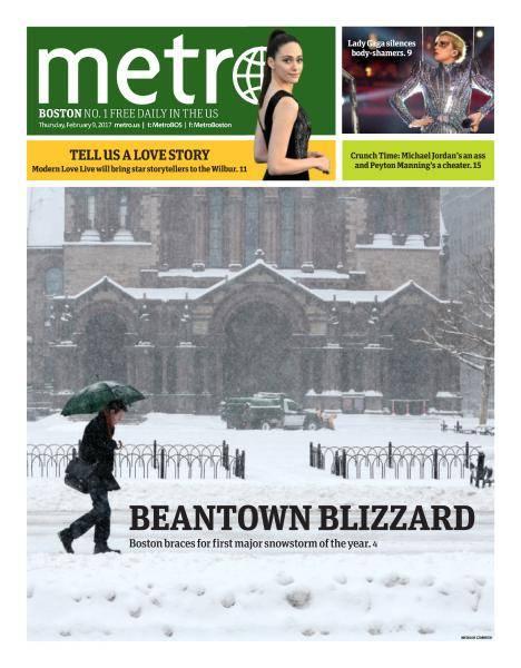 Metro Boston - February 9, 2017