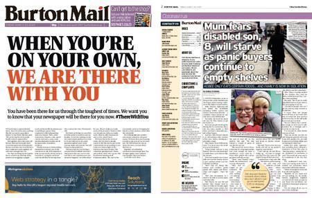 Burton Mail – March 20, 2020