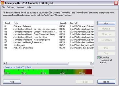 Ashampoo BurnYa AudioCD ver. 2.6