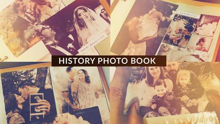 History Photo Book - Project for After Effects (VideoHive)