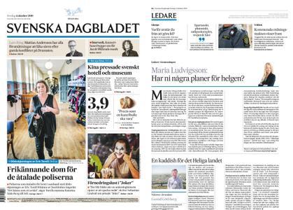 Svenska Dagbladet – 04 oktober 2019