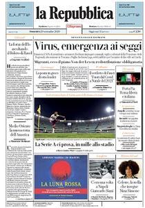 la Repubblica - 20 Settembre 2020