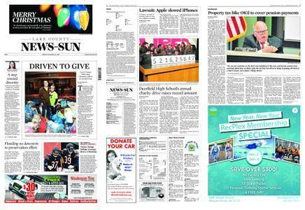 Lake County News-Sun – December 25, 2017