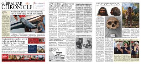 Gibraltar Chronicle – 26 June 2021