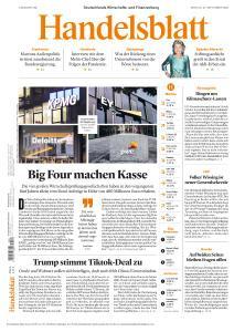 Handelsblatt - 21 September 2020