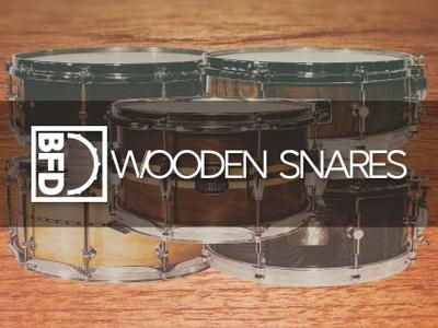 FXpansion BFD Wooden Snares for BFD3 WiN