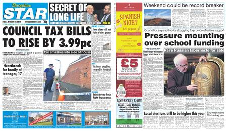 Shropshire Star Shrewsbury Edition – February 22, 2019