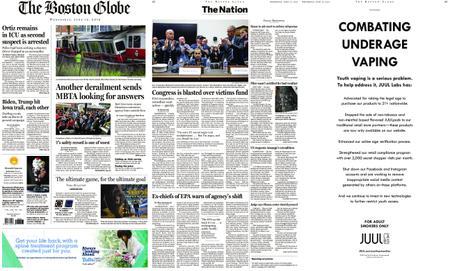 The Boston Globe – June 12, 2019