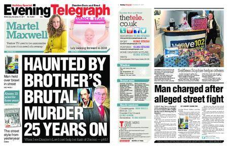 Evening Telegraph First Edition – December 27, 2017