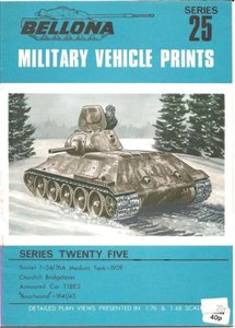 Bellona Military Vehicle Prints: series 25