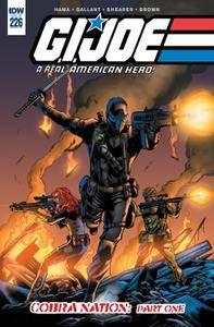 G I Joe - A Real American Hero 226 2016 2 covers digital