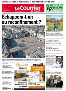 Le Courrier de l'Ouest Nord Anjou – 27 octobre 2020