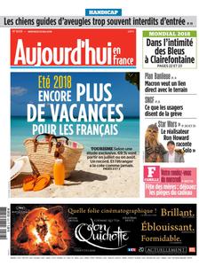 Aujourd'hui en France du Mercredi 23 Mai 2018