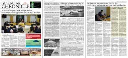 Gibraltar Chronicle – 15 November 2019