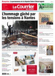 Le Courrier de l'Ouest Angers – 04 août 2019