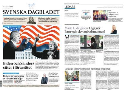 Svenska Dagbladet – 03 mars 2020