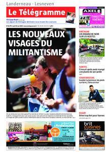 Le Télégramme Landerneau - Lesneven – 20 mai 2019
