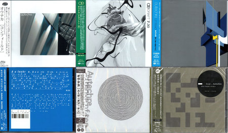 Autechre - Albums Collection 2001-2013 (8CD) Japanese Releases [Re-Up]
