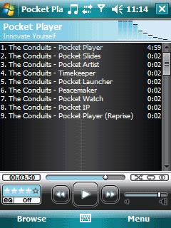 Conduits Pocket Player