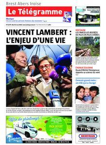 Le Télégramme Brest Abers Iroise – 21 mai 2019