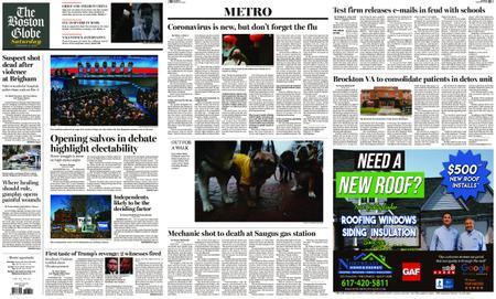 The Boston Globe – February 08, 2020