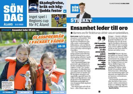 Ålandstidningen – 31 maj 2020