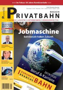 Privatbahn Magazin - November-Dezember 2019