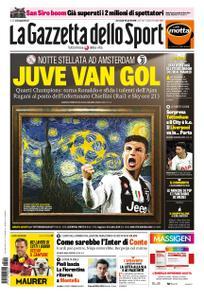 La Gazzetta dello Sport – 10 aprile 2019