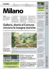 la Repubblica Milano - 4 Settembre 2018