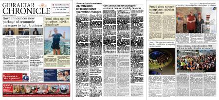 Gibraltar Chronicle – 27 June 2020
