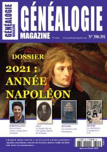 Généalogie N°390-391 - Mars-Mai 2021