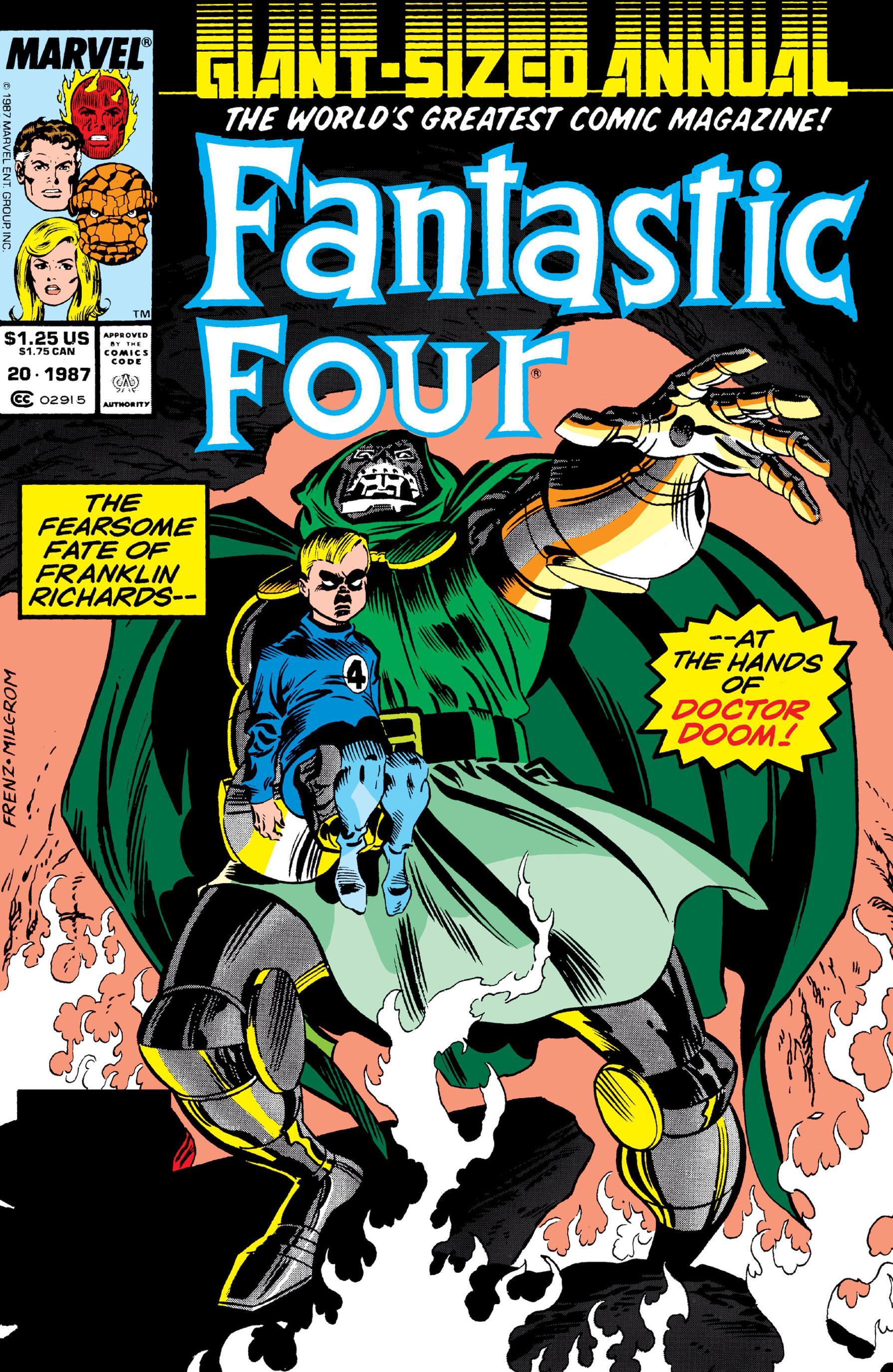 Fantastic Four Annual 020 1987 Digital Shadowcat